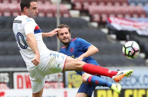 Juan Mata vs Wigan3