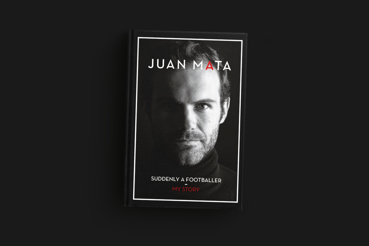 Libro de Juan Mata. Suddenly a footballer